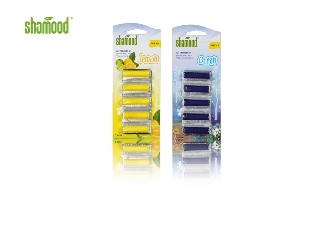 Customized Vacuum Home Air Freshener Lemon Ocean Scents